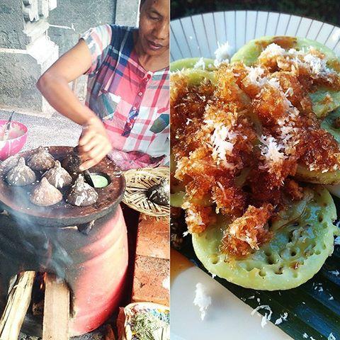 Jaje Laklak Bali Cemilan Tradisional Khas Bali Wisata Kuliner Indonesia