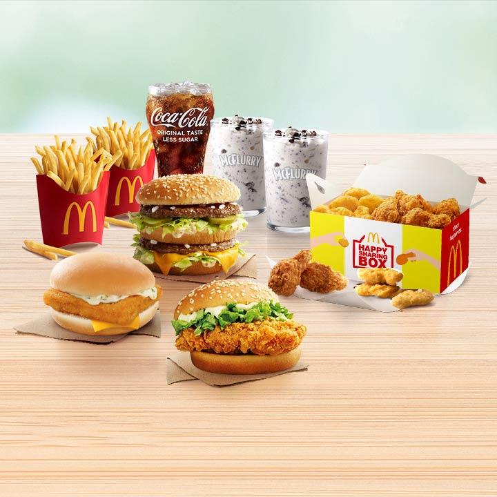 Menu McDonald's Dan Harga Lengkap Dengan Gambar